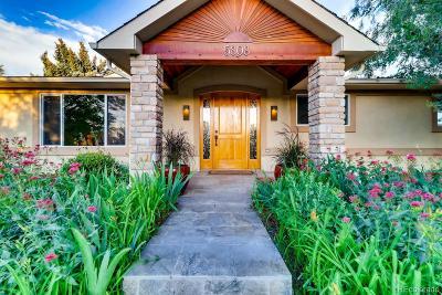 Boulder Single Family Home Active: 5808 Knoll Crest Court