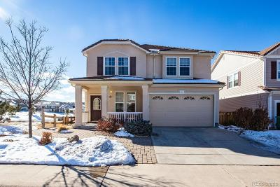 Castle Rock Single Family Home Under Contract: 1837 Candleglow Street