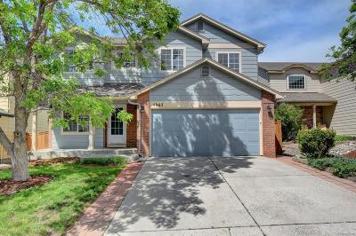 Castle Rock Single Family Home Active: 4962 North Silverlace Drive
