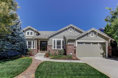 Highlands Ranch Single Family Home Under Contract: 3021 Greensborough Drive