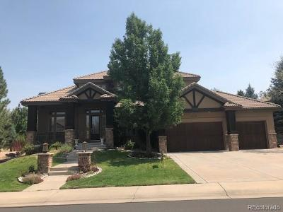 Lone Tree Single Family Home Active: 9159 East Lost Hill Drive