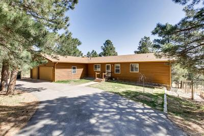 Peyton Single Family Home Active: 17225 Lodgepole Road