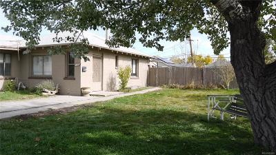Aurora CO Single Family Home Active: $260,000