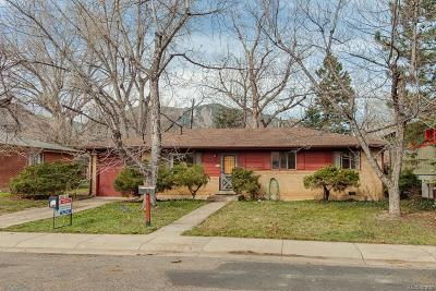 Boulder Single Family Home Active: 185 South 33rd Street