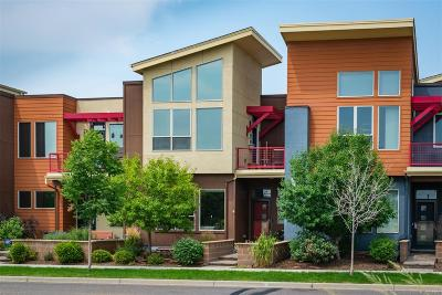 Denver Condo/Townhouse Under Contract: 8481 East 33rd Avenue