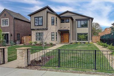 Denver Single Family Home Active: 2591 South Columbine Street
