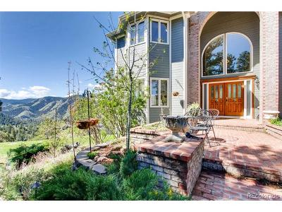 Golden Single Family Home Active: 2151 Sawmill Gulch Road