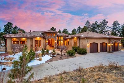 Colorado Springs Single Family Home Active: 5465 Vessey Road
