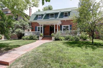 Denver Single Family Home Under Contract: 2340 Ash Street