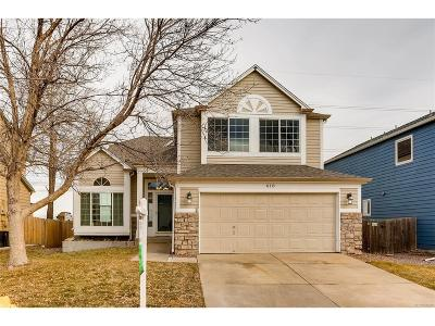 Castle Rock Single Family Home Under Contract: 618 South Carlton Street