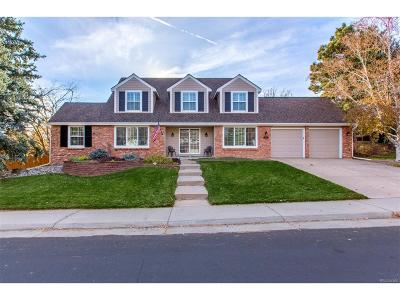 Arapahoe County Single Family Home Under Contract: 10684 East Maplewood Drive