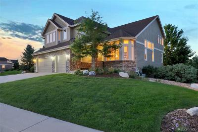 Castle Pines Single Family Home Active: 7068 Turweston Lane