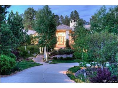 Castle Rock CO Single Family Home Active: $2,900,000