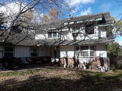 Littleton Single Family Home Active: 7551 South Lost Ranger Peak