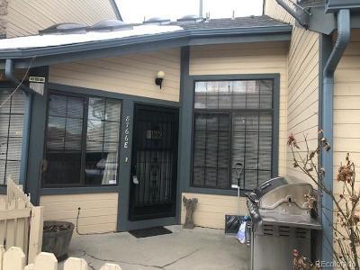 Arvada Condo/Townhouse Under Contract: 8766 Allison Drive #E
