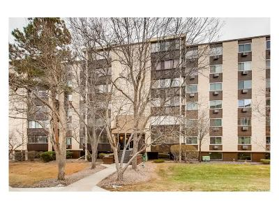 Condo/Townhouse Sold: 6960 East Girard Avenue #105