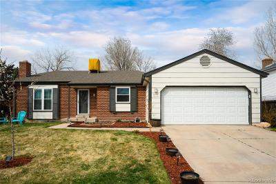 Littleton Single Family Home Under Contract: 8735 West Indore Drive