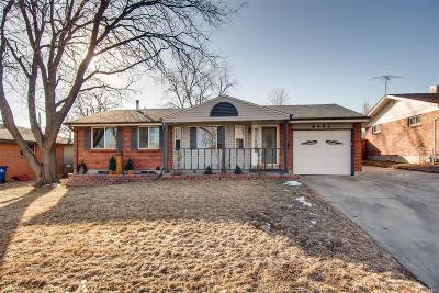 Arvada Single Family Home Active: 8453 Chase Street