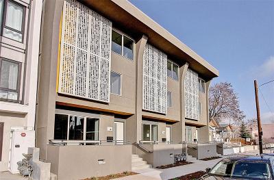 Denver Condo/Townhouse Active: 45 Galapago Street
