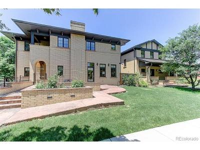 Denver Single Family Home Active: 2021 Dahlia Street