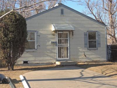 Denver Single Family Home Active: 735 Perry Street
