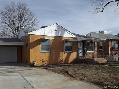 Englewood Single Family Home Active: 3160 South Delaware Street
