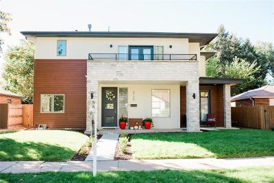 Denver Single Family Home Active: 3730 West 24th Avenue