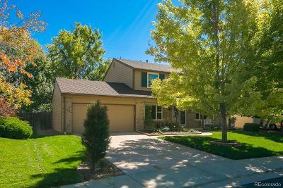 Centennial Single Family Home Under Contract: 7146 South Hudson Circle