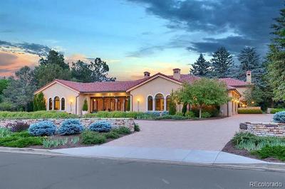 Colorado Springs Single Family Home Active: 5 Marland Road