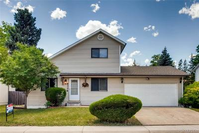 Littleton Single Family Home Active: 8738 West Maplewood Drive