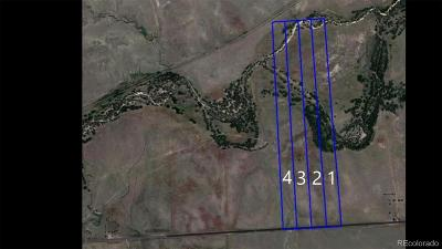 Matheson CO Residential Lots & Land Active: $100,000