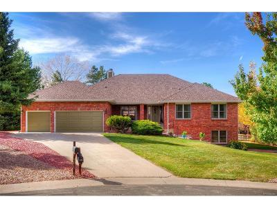 Littleton Single Family Home Under Contract: 7535 South Anvil Horn