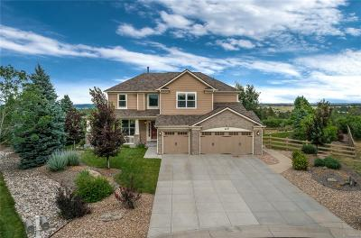 Castle Rock Single Family Home Under Contract: 6487 Boyd Court