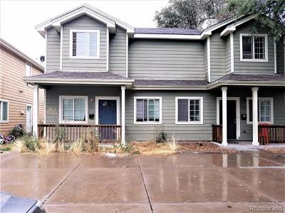 Denver Condo/Townhouse Active: 961 Osceola Street