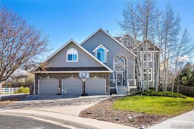 Boulder Single Family Home Active: 5232 Desert Pine Court