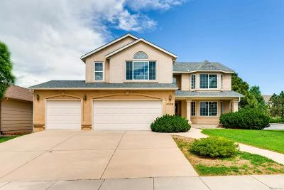 Colorado Springs Single Family Home Active: 9225 Gingerhill Court