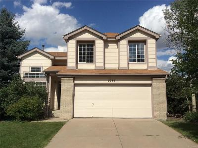 Centennial Single Family Home Under Contract: 5266 South Jericho Way