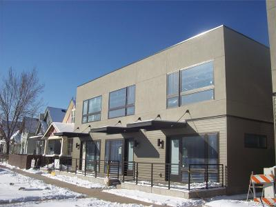 Denver Condo/Townhouse Under Contract: 3347 North Humboldt Street