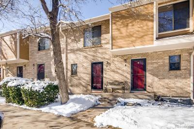 Lakewood Condo/Townhouse Under Contract: 8787 West Cornell Avenue #7