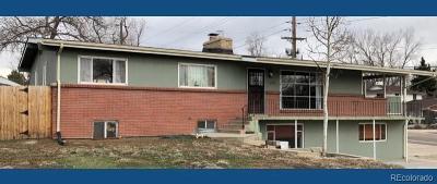 Lakewood CO Single Family Home Active: $425,000