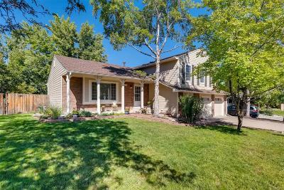 Littleton Single Family Home Under Contract: 9757 West Nova Avenue