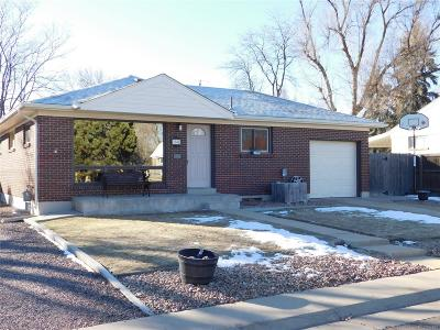 Northglenn Single Family Home Under Contract: 1342 East 108th Avenue