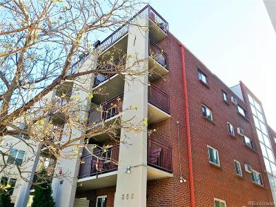 Condo/Townhouse Under Contract: 352 South Lafayette Street #301