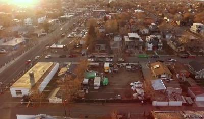 Denver Residential Lots & Land Active: 3830 Jason Street