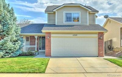 Broomfield Single Family Home Under Contract: 12327 Deerfield Way
