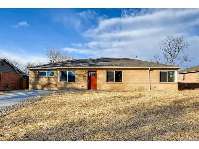 Arapahoe County Single Family Home Active: 785 Salem Street