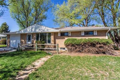 Centennial Single Family Home Active: 2706 East Euclid Avenue