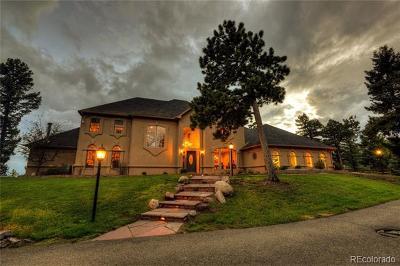 Conifer Single Family Home Under Contract: 14052 Shiloh Ridge Road