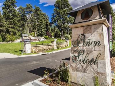 Castle Rock Residential Lots & Land Active: 1698 Via Los Pinon