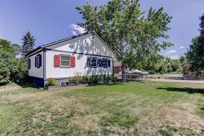 Arvada Single Family Home Active: 6000 Carr Street